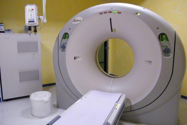 Tomograf v litoměřické nemocnici