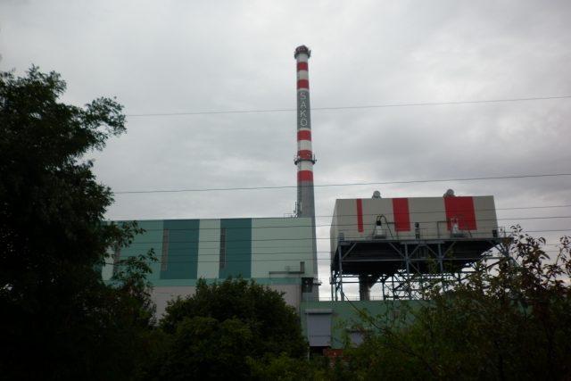 Spalovna komunálních odpadů v Brně