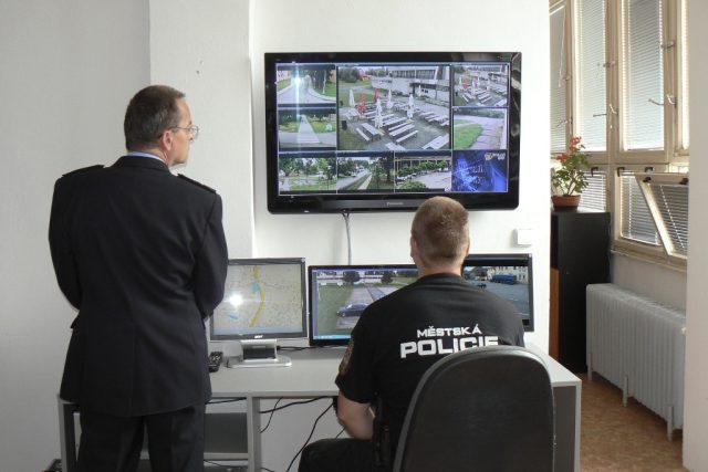 Monitory kamerového systému