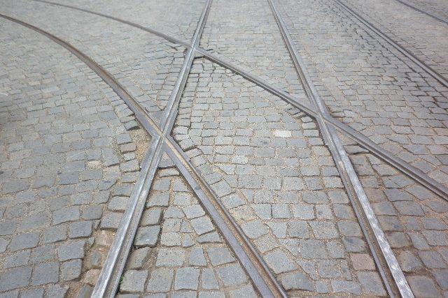 Tramvajové koleje - ilustrační snímek