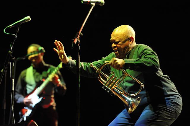 Hugh Masekela na Colours of Ostrava