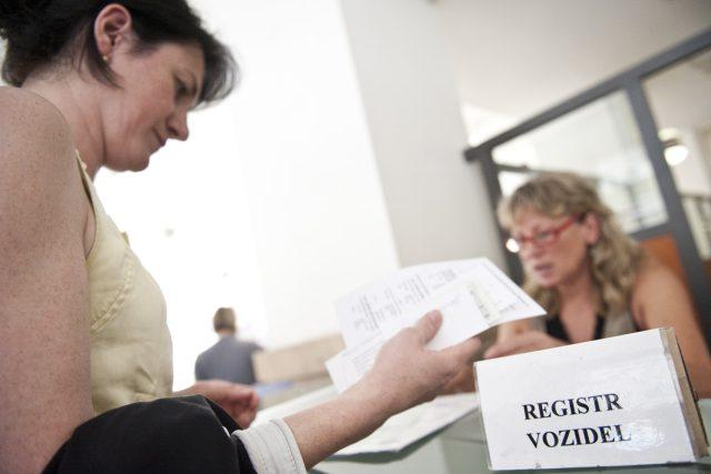 Registr vozidel v Praze