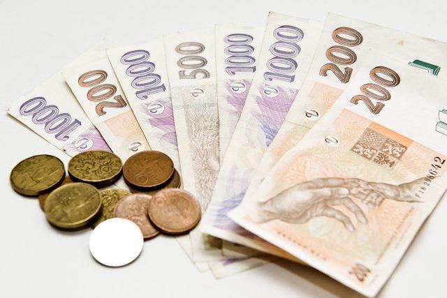 Peníze (ilustrační foto)