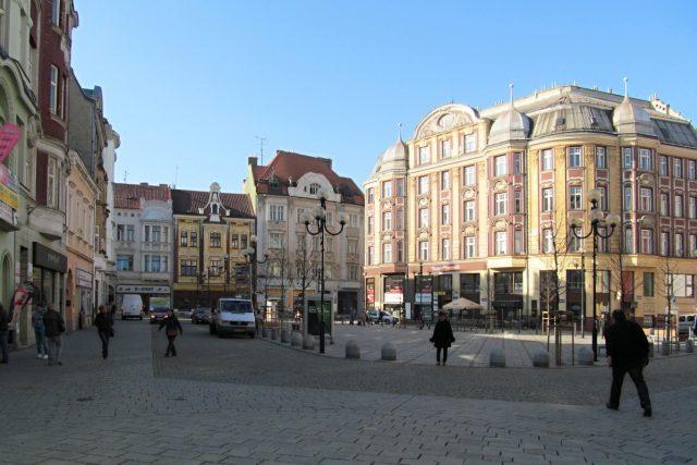 Ostravské Jiráskovo náměstí, kterému ale místní říkají Kuří rynek