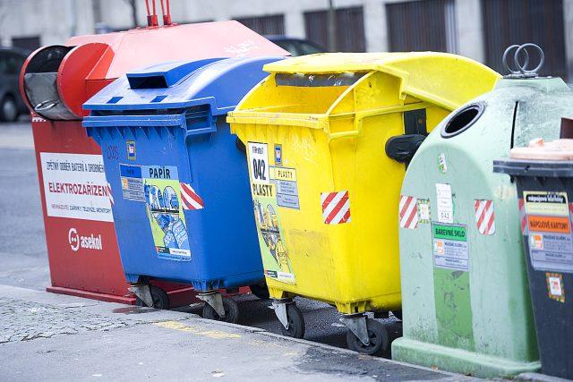Tříděný odpad, kontejner, recyklace (ilustrační foto)