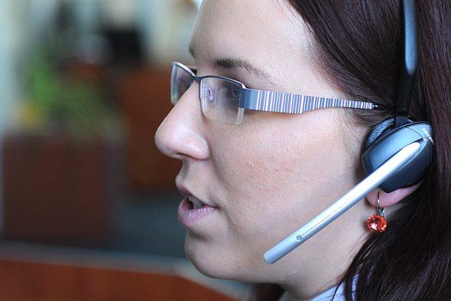 Telefonní centum tísňového volání 112, call centrum (ilustační foto)