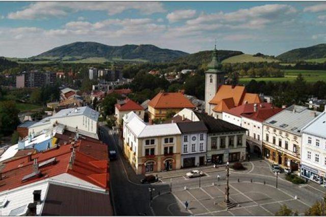 Frenštát pod Radhoštěm - pohled z radniční věže