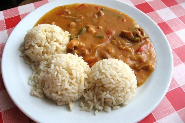 Kovbojská pánev s rýží