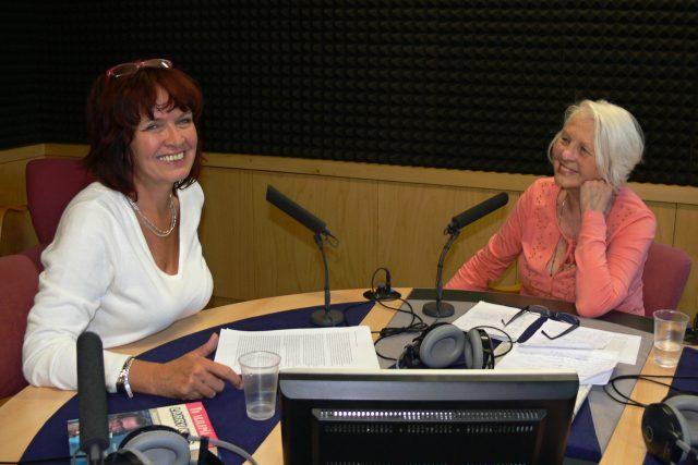 Dagmar Misařová (vlevo) jako host Evy Mudrové