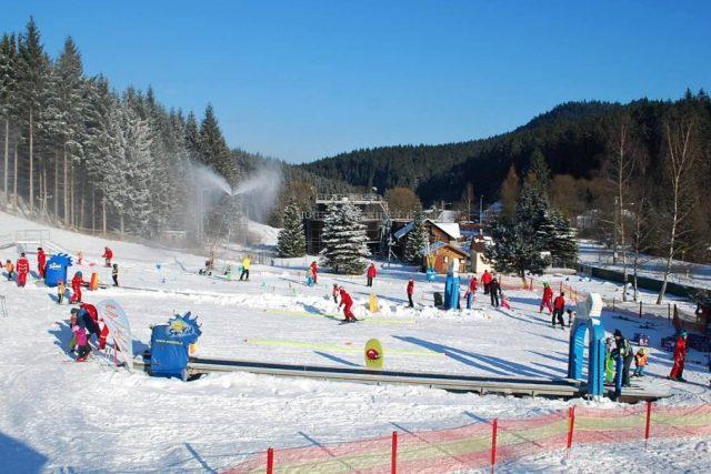 Celkový pohled na ski park