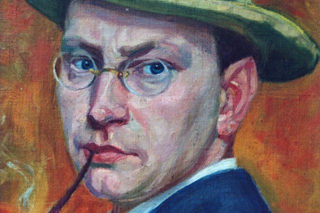 Hrabal 30letý - autoportrét  (ořez)   foto: Bořek Žižlavský