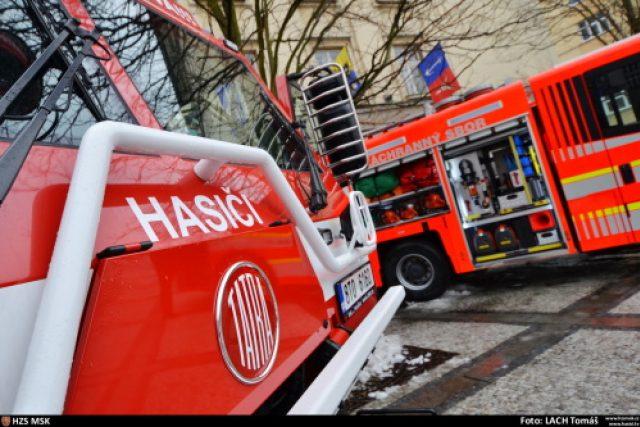 Nová hasičská technika pro dobrovolné hasiče