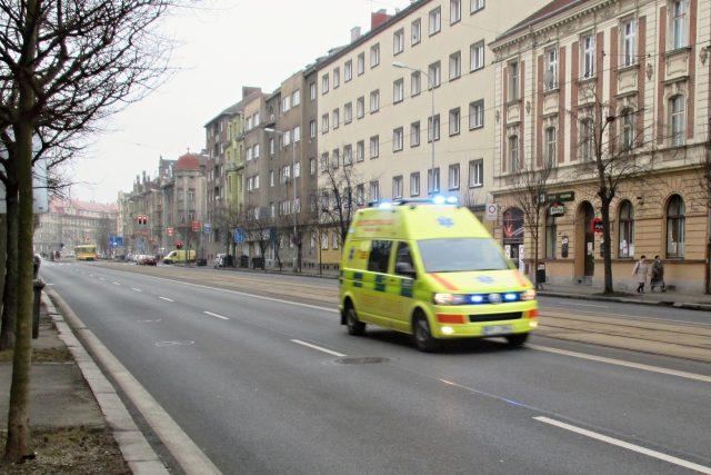 Sanitka  (ilustrační snímek)   foto: Pavel Halla,  Český rozhlas