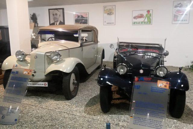 Tatra 30 a Tatra 57 zvaná také Hadimrška