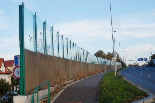 Protihluková stěna (ilustrační foto)