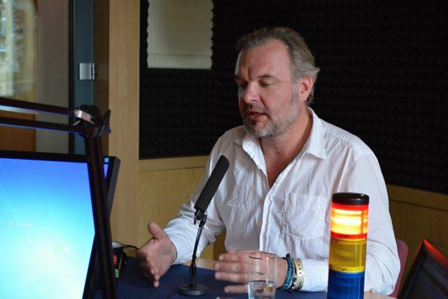 Martin Straka v Koktejlu | foto: František Tichý,  Český rozhlas