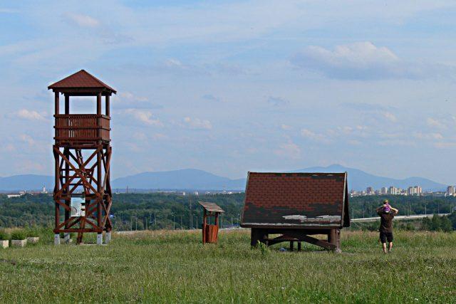 Rozhledna v Ostravě-Hošťálkovicích