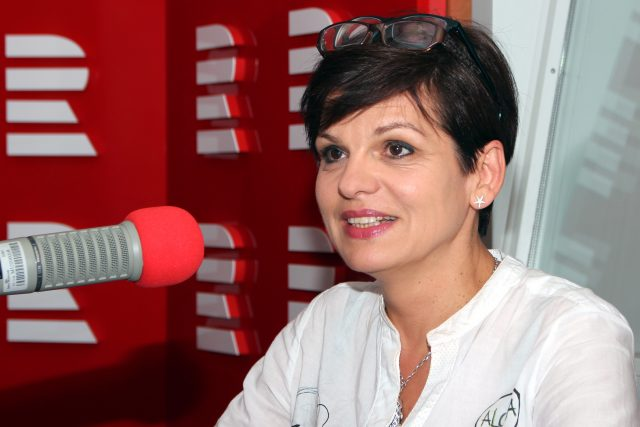 Eva Katrušáková,  autorka projektu Celé Česko čte dětem   foto: Šárka Ševčíková,  Český rozhlas