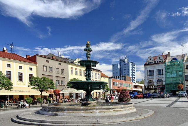 Karviná - Fryštát, Masarykovo náměstí