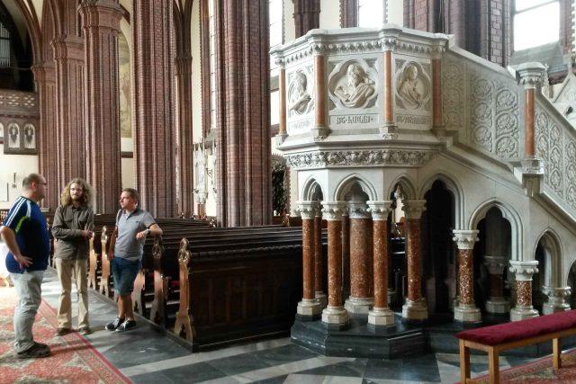 V kostele sv. Bartoloměje v Kravařích na Opavsku