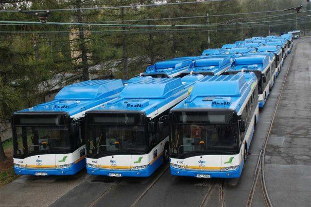Nové autobusy Solaris na CNG pro ostravský dopravní podnik