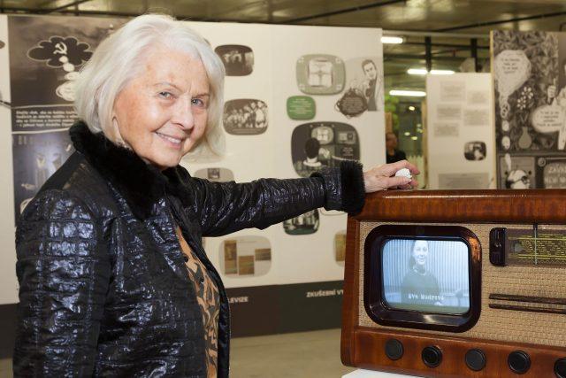 Televizní (a také rozhlasová) hlasatelka Eva Mudrová