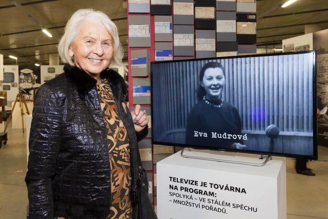Eva Mudrová ostravské vysílání před 60 lety zahajovala