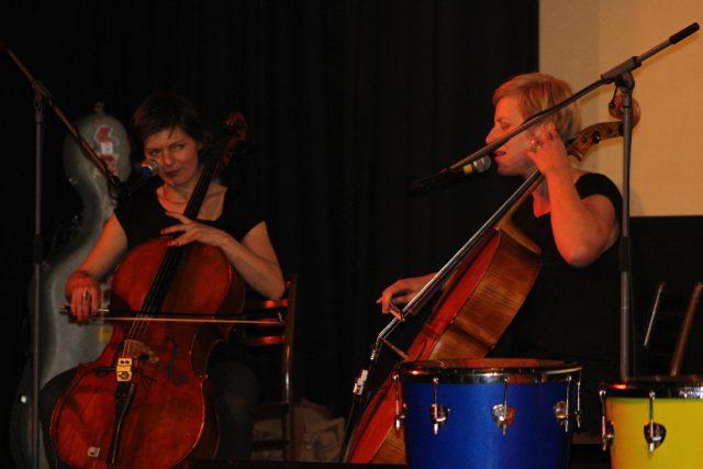 Violoncellové duo Tara Fuki
