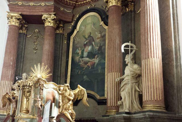 Ve starobělském kostele