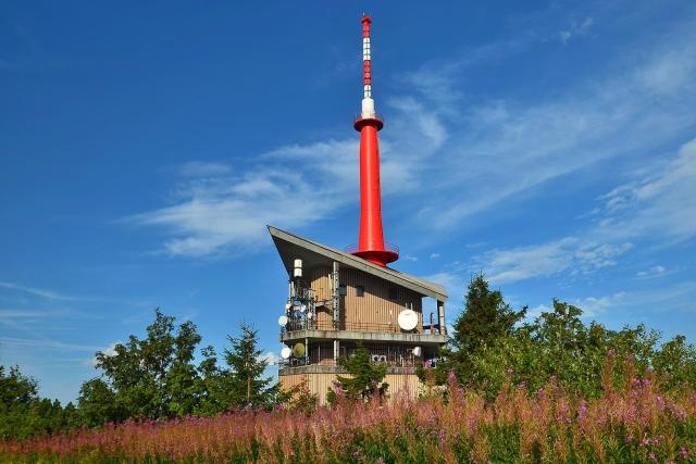 Vysílač na vrcholu Lysé hory | foto: Petr Lukeš