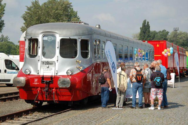 Stříbrný šíp na veletrhu Czech Raildays 2016