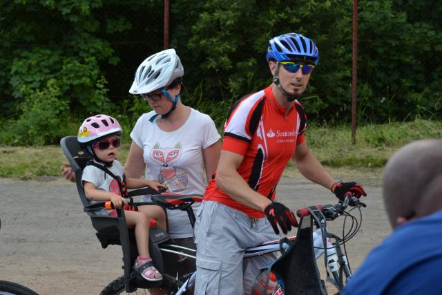 Cyklopiknik je hlavně rodinný výlet