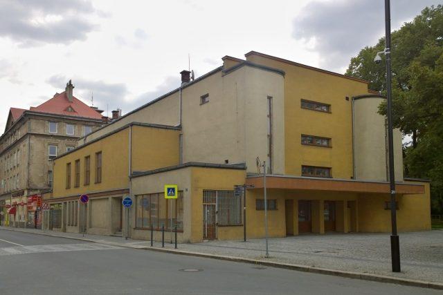 Budova někdejšího kina Mír v Ostravě-Vítkovicích