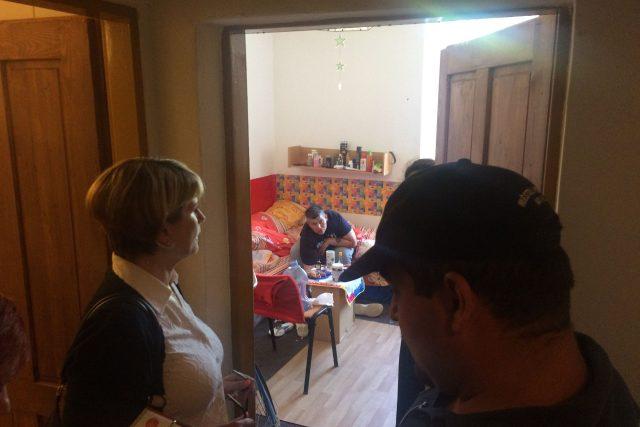 Kontrola domu ve Veslařské ulici