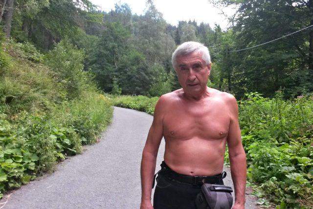 Pan Ján Čupa,  kterému výšlapy na Lysou horu vrátily chuť do života | foto: Iva Havlíčková,  Český rozhlas