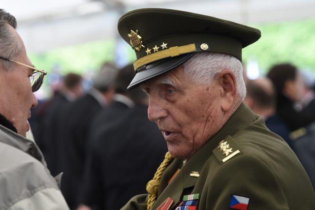 Válečný veterán Bedřich Opočenský. | foto: ČTK