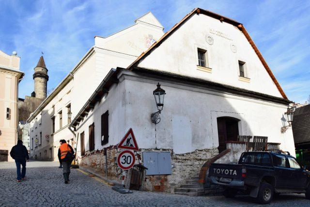 Bývalé Masné krámy, za rok Muzeum Šipka