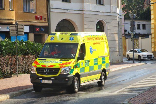 Vozidlo Záchranné služby Libereckého kraje