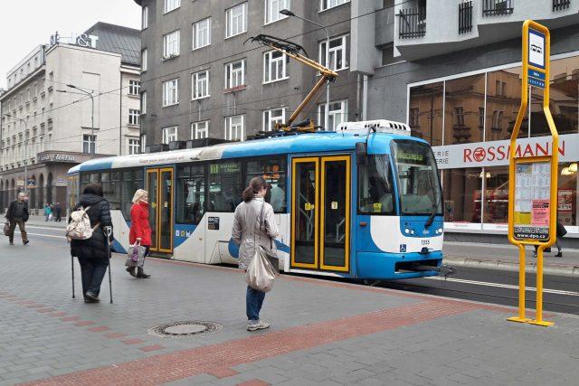 Tramvajová doprava v Ostravě