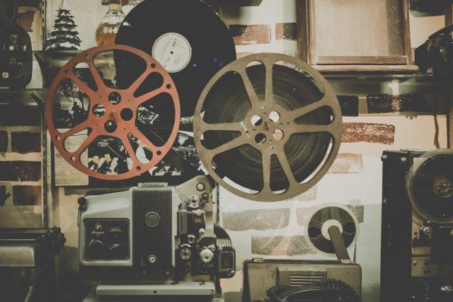 Filmová promítačka - film
