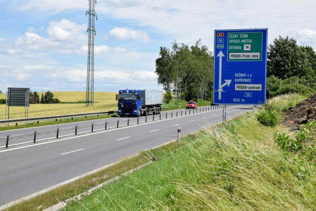 Dálnice bude oproti stávající silnici širší až o 10 metrů