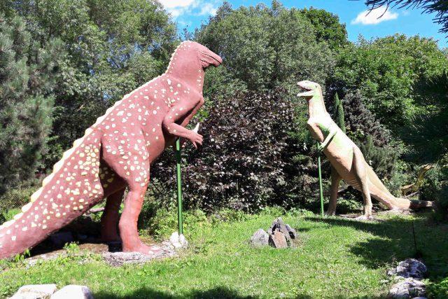 Dinosauři v unikátní galerii