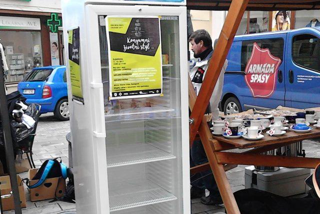 Veřejná lednička v Šumperku