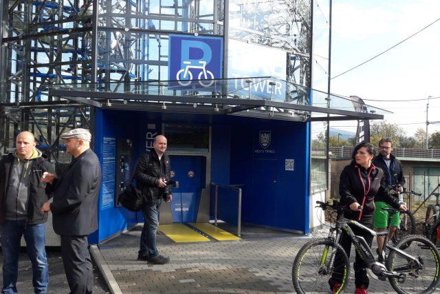 V Třinci slavnostně zahájili provoz cyklověže