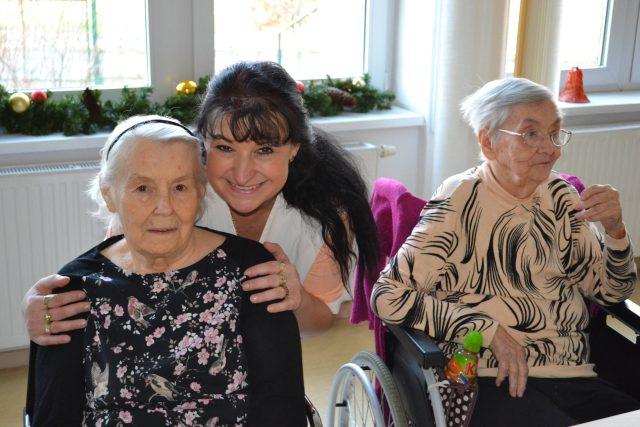 Folklorní odpoledne v domově pro seniory Slunečnice