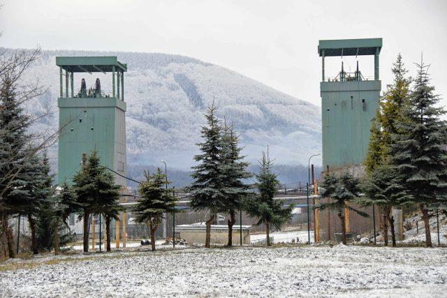 Těžní věže Dolu Frenštát