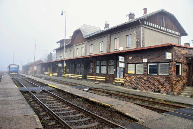 Výpravní budova frenštátského nádraží