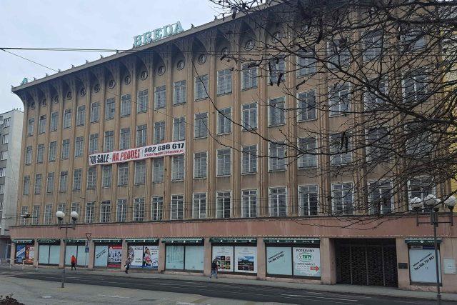 Obchodní dům Breda v Opavě je na prodej