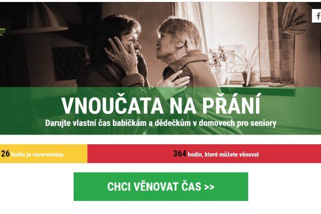 Projekt Českého rozhlasu Vnoučata na přání. Více na www.jeziskovavnoucata.cz