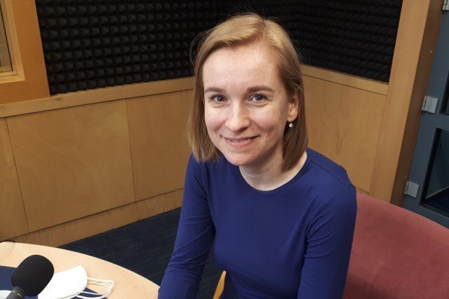 Terapeutka Marika Bajerová | foto: Eva Panošová,  Český rozhlas